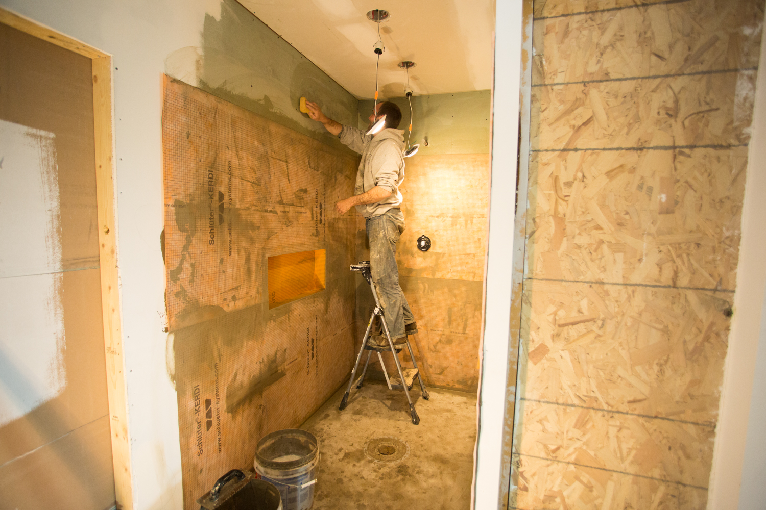 curbless zero barrier shower installers in wisconsin