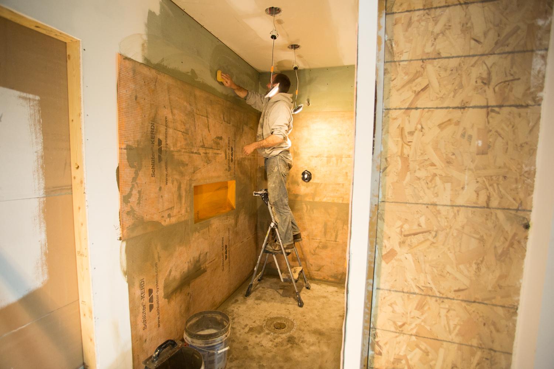 curbless zero barrier shower installers in wisconsin