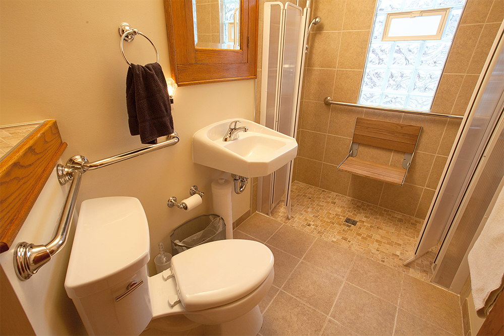 Tiny Accessible Bathroom Remodel – Accessible Bathroom