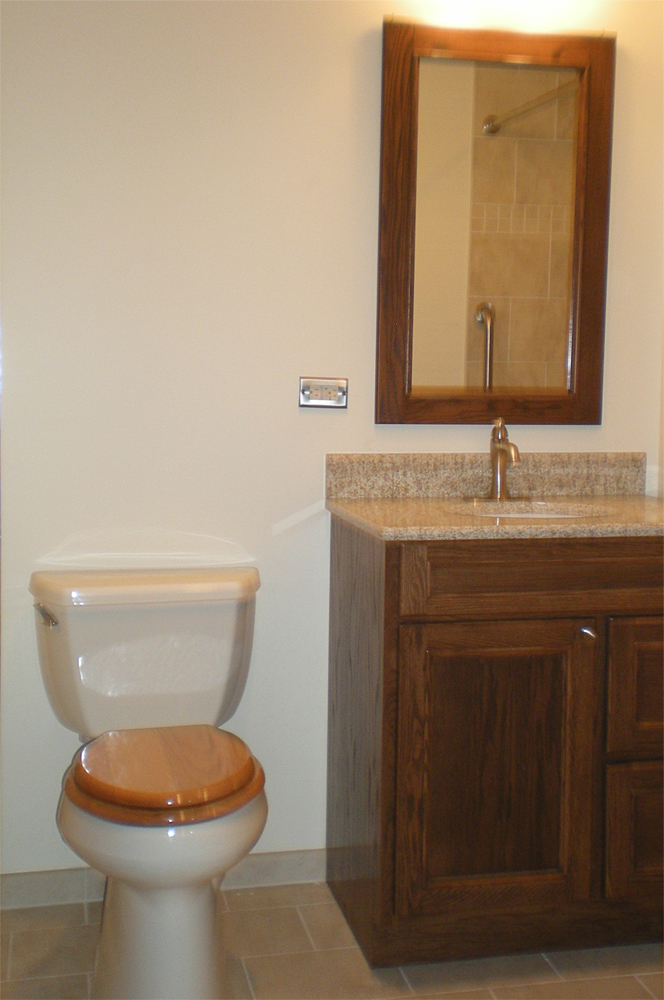 Bathroom addition to main floor smart accessible living for Ada bedroom