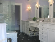 bathroom lighting for poor eyesight and aging in place