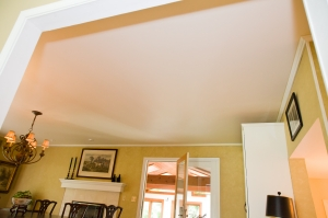 Dining Room Ceiling Repair by Smart Accessible Living