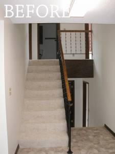 Custom Stair Railing by Smart Accessible Living
