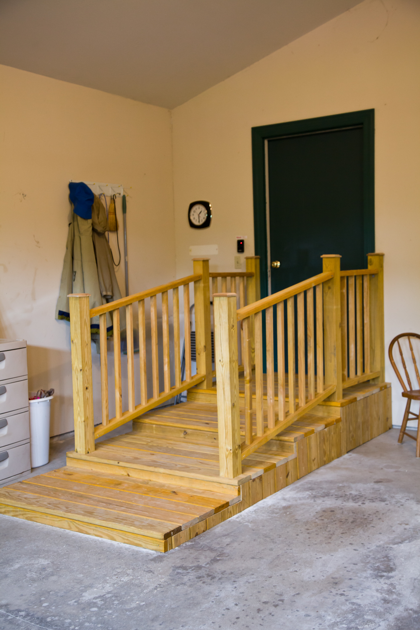 ... Stairs In Garage For Use With Walker Installed By Smart Accessible  Living ...