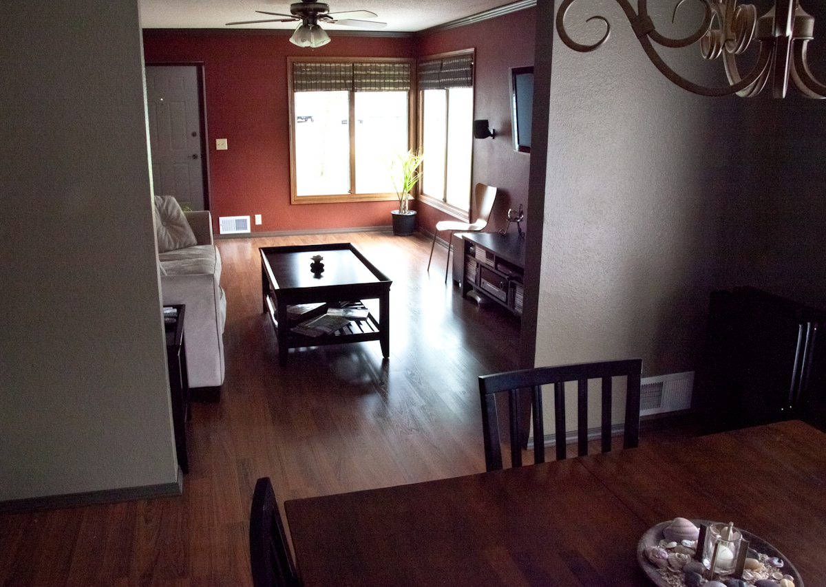 Living dining room remodel smart accessible living for Dining room renovation