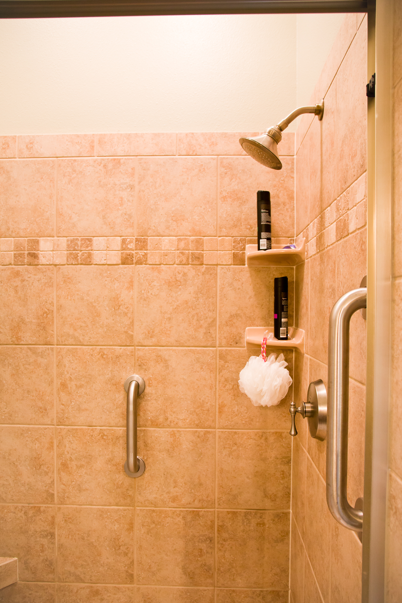 Shower Grab Bars Installed by Smart Accessible Living