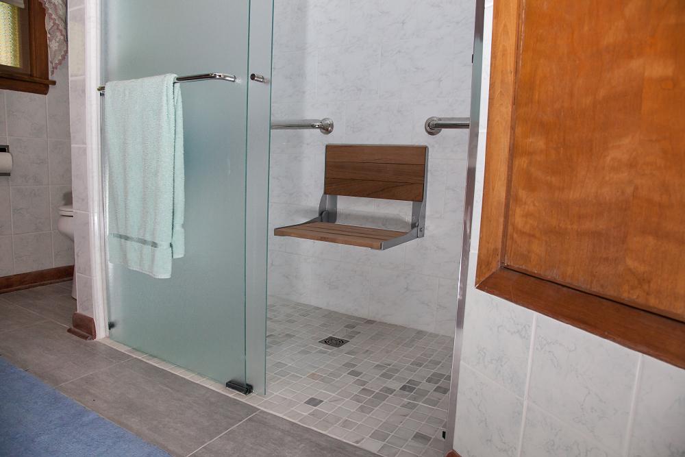 Bathroom Remodel Green Bay Wi : Accessible shower insert installation smart