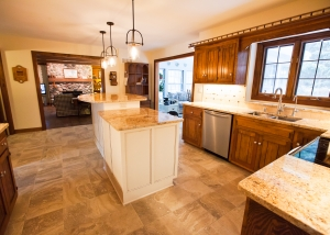 Modenized Kitchen WIth Large Island