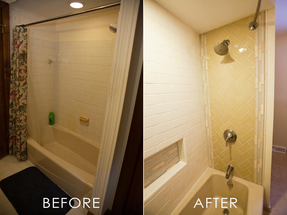 Remodeled Guest Bathroom In Waukesha Wisconsin Smart