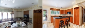 Before - After - Kitchen