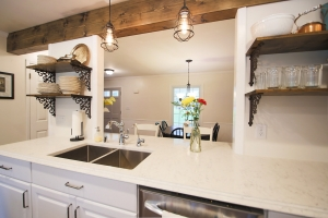 rustic modern kitchen remodel