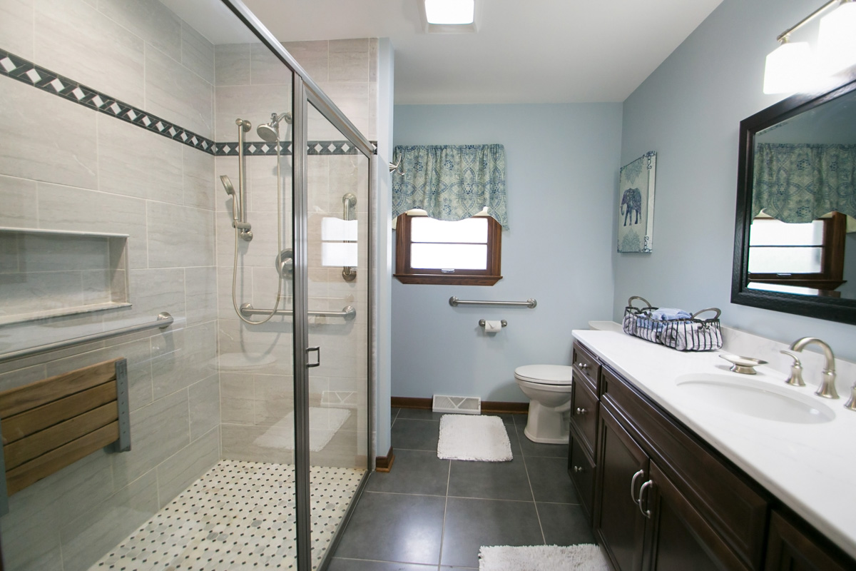 An Accessible Bathroom Remodel