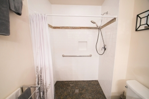 A Barrier Free Shower