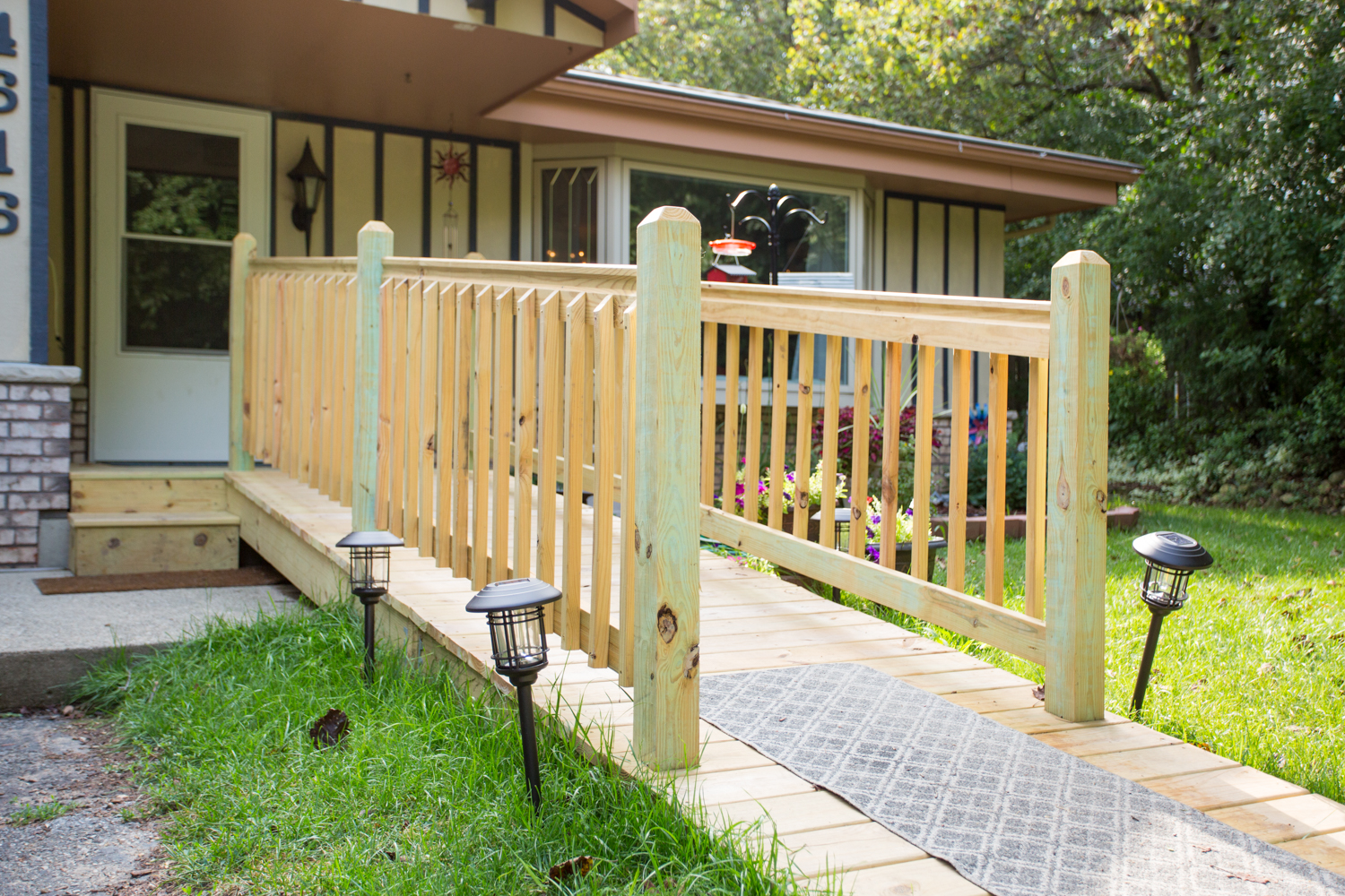 handicap residential ramps in wisconsin