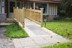 handicap home ramp in west bend wisconsin