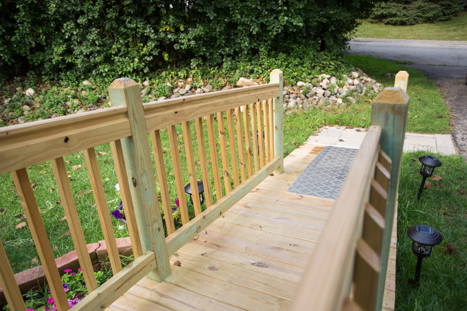 accessible ramp by west bend wisconsin remodeler