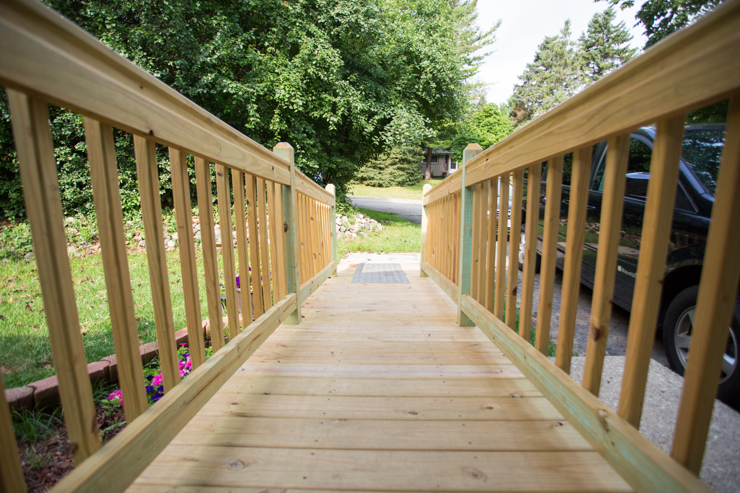 west bend wisconsin remodeler creates accessible ramp