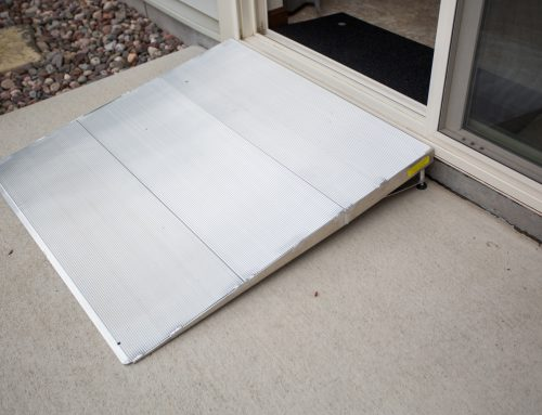 Threshold Mini Ramps for Wheelchairs