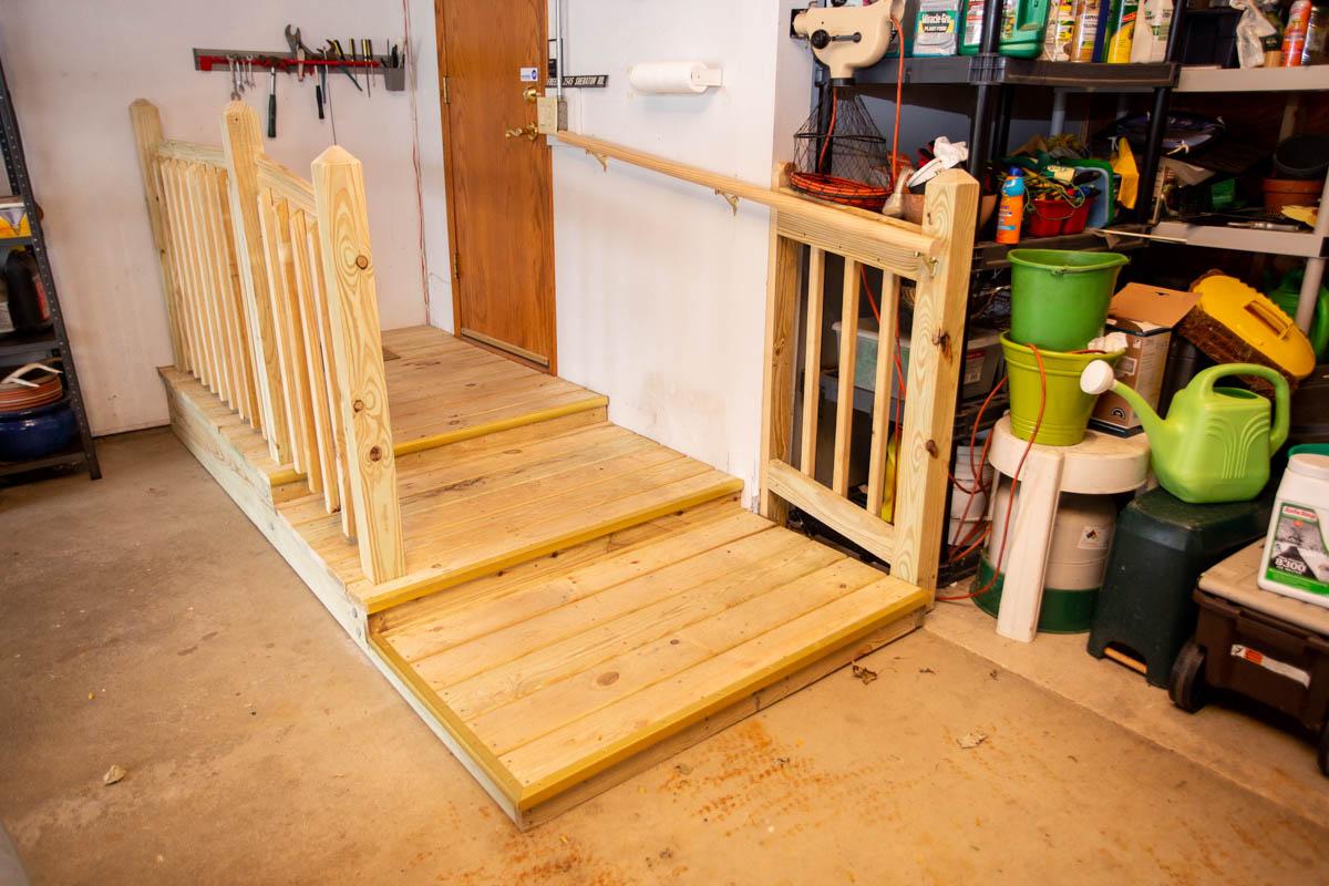 garage ramp build west bend wisconsin