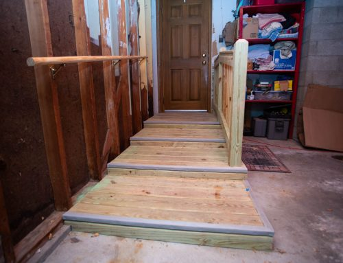 Accessible Garage Ramp