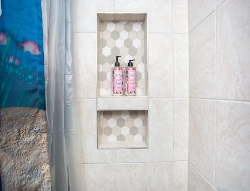 Small Accessible Shower Remodel