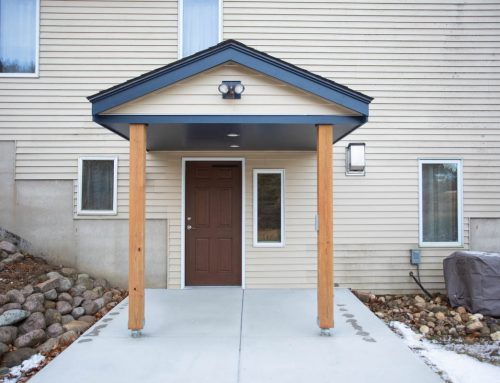 Private Entrance for Accessible Basement Suite