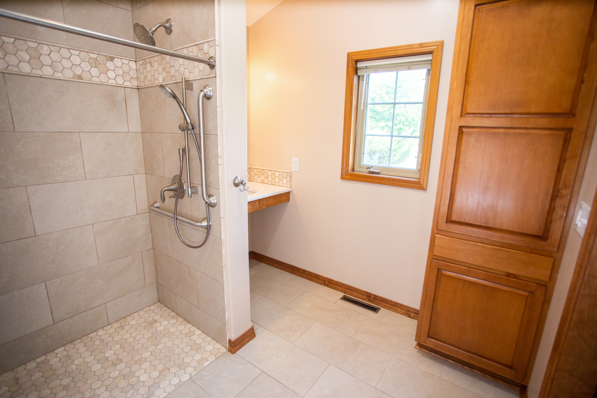 west bend wisconsin accessible bathroom remodel